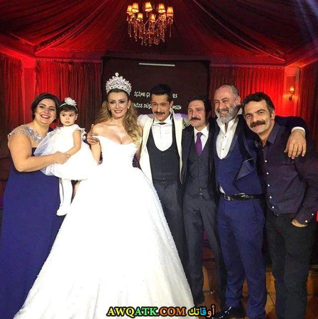 صورة من حفل زفاف الفنان اسماعيل حجي اوغلو