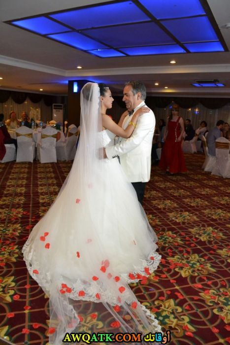 صورة من حفل زفاف علي كاكالغوز