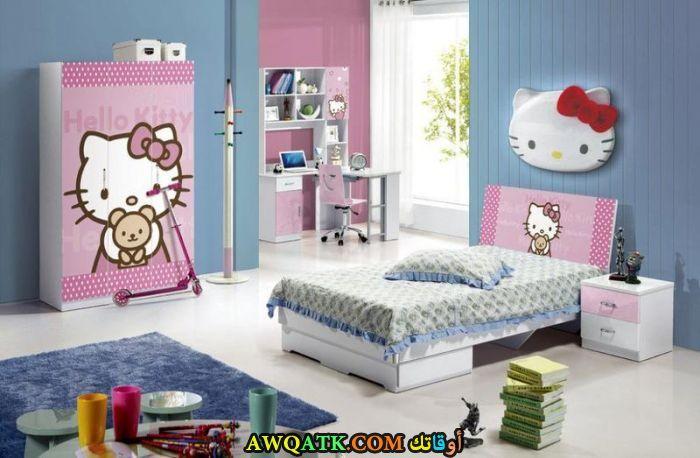 غرفة نوم بينك رائعة