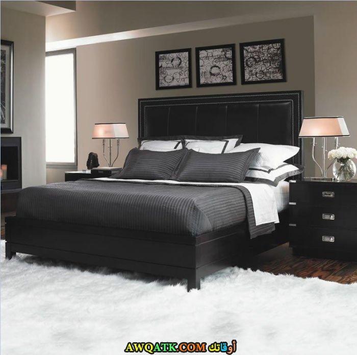 غرفة نوم خشب رائعة وجميلة