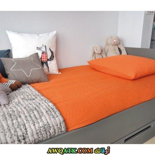 غرفة نوم صيني برتقالية