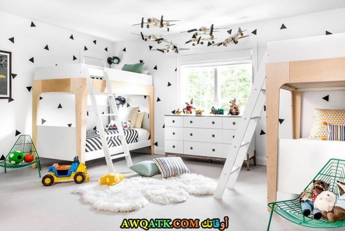 غرفة نوم رائعة وجميلة