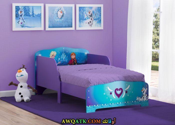 غرفة نوم موف جميلة