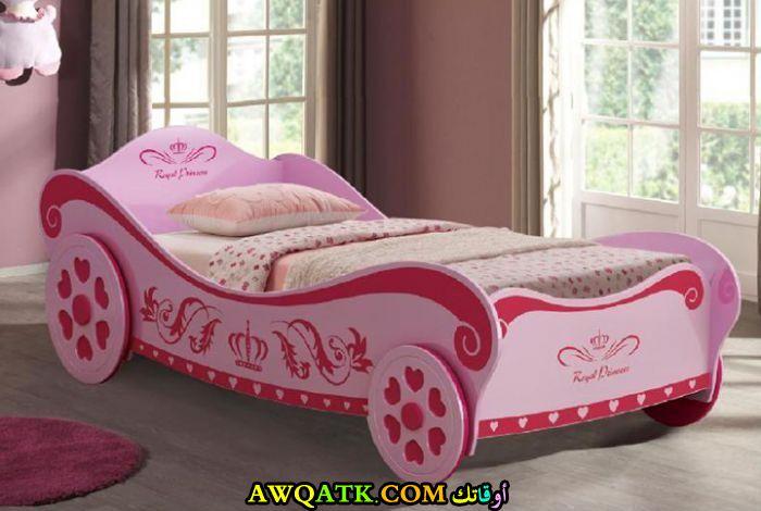 غرفة نوم علي شكل سيارة روعة