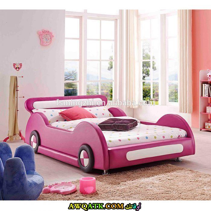 غرفة نوم جمية جداً باللون البينك