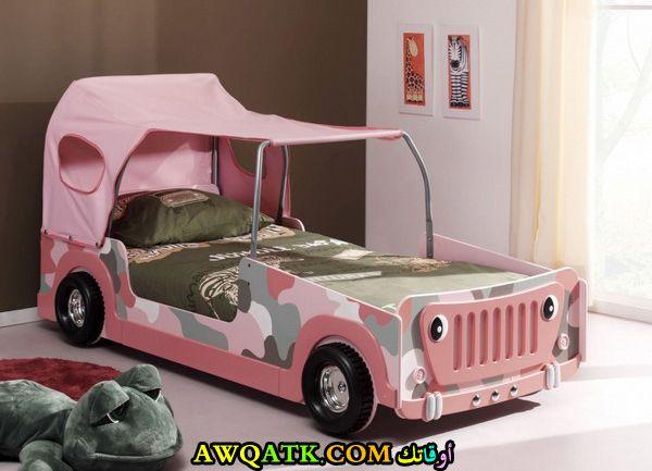 غرفة نوم شيك جداً باللون البينك