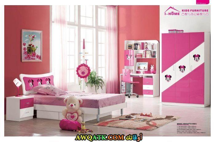 غرفة نوم روعة باللون البينكغرفة نوم روعة باللون البينك