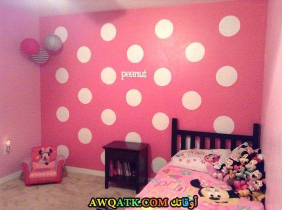 غرفة نوم ميكي باللون البينك