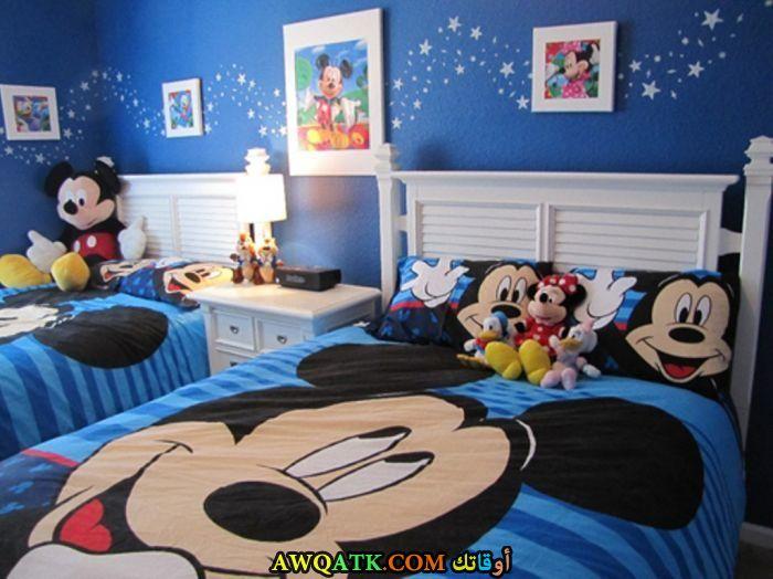 غرفة نوم جميلة جداً زرقاء