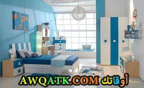 غرفة نوم باللون اللبني جميلة جداً
