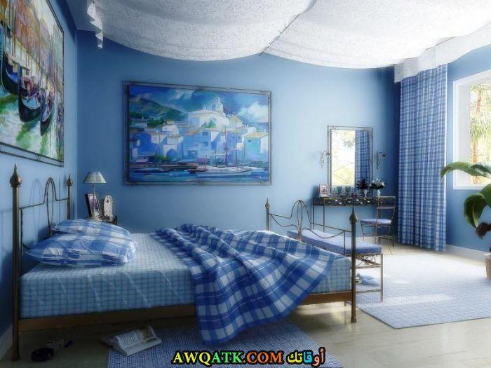 غرف نوم لبني جميلة