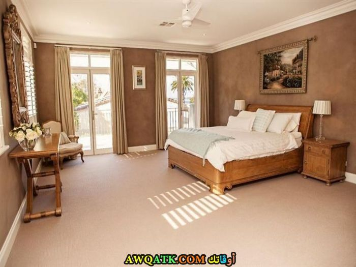 غرفة نوم شيك ورائعة