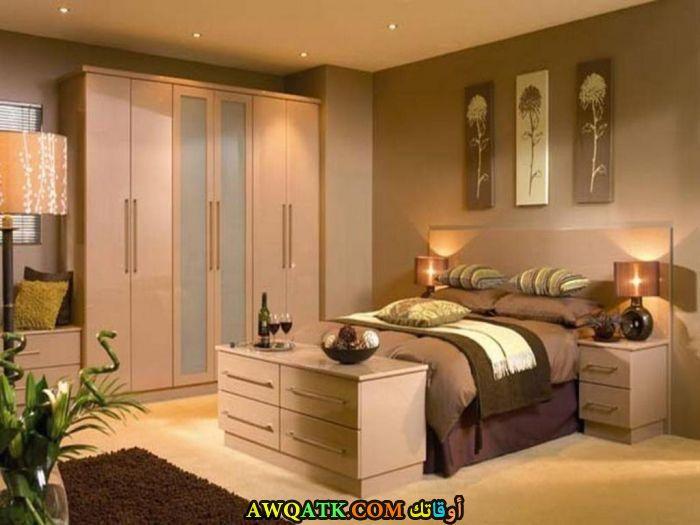 غرفة نوم خشب شيك جداً
