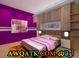 غرفة نوم خشب أرو