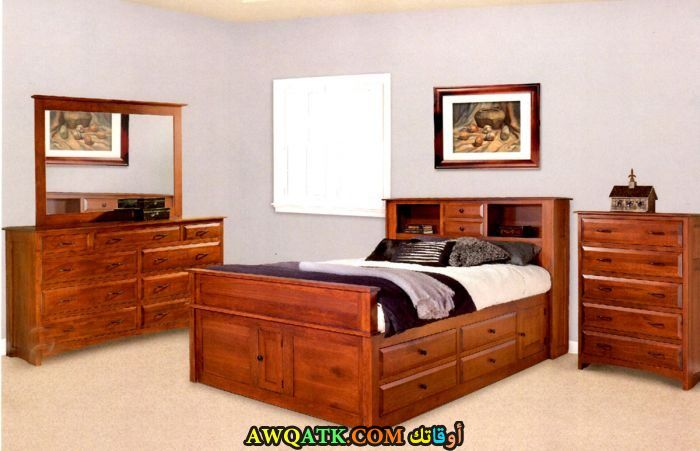 غرفة نوم زان رائعة