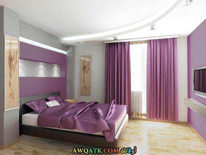 غرفة نوم خشب زان روعة