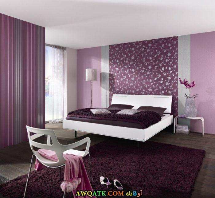 غرفة نوم خشب مودرن موف