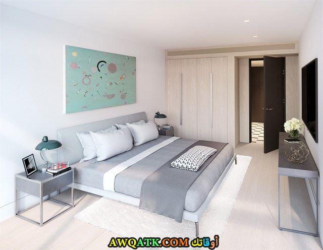 غرف نوم سنتر بوينت باللون البني والرمادي