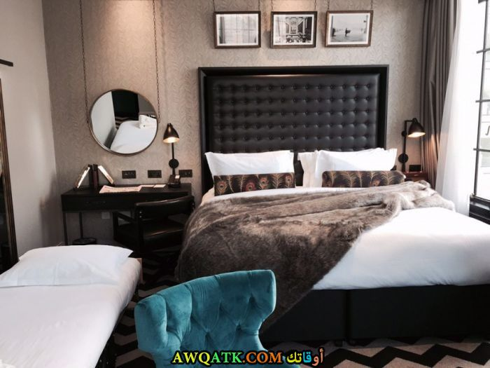 غرف نوم سنتر بوينت باللون الأسود والأبيض 2017