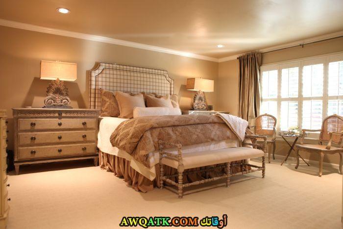 غرفة نوم بيج رئعة