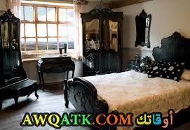 غرفة نوم شيك ورائعة سوداء