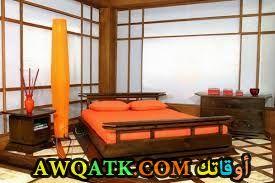 غرفة نوم بنية روعة