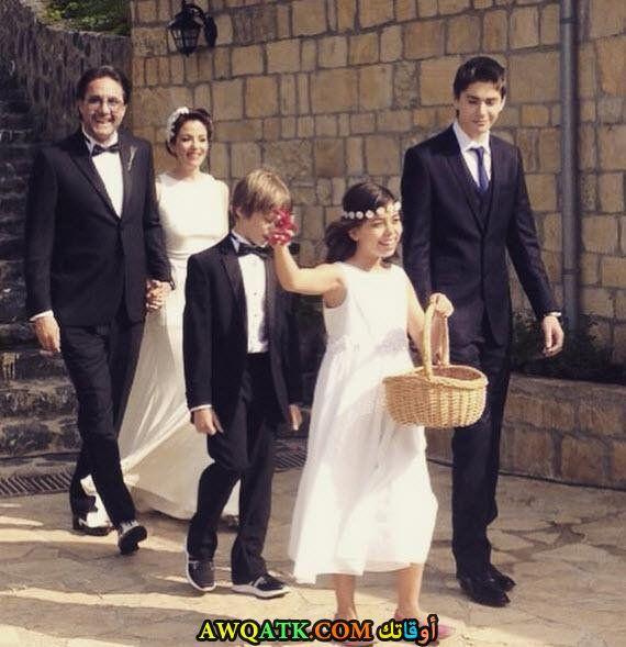 صورة من حفل الزفاف هاكان ميريتشليلر