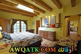 غرفة نوم خضراء روعة