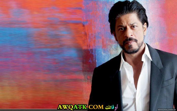 أحدث صورة للفنان الهندي شاه روخ خان