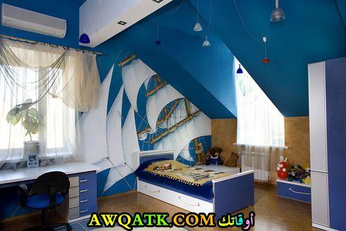 غرفة نوم أطفال سادة روعة