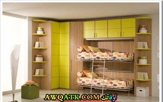 غرفة نوم روعة صفراء