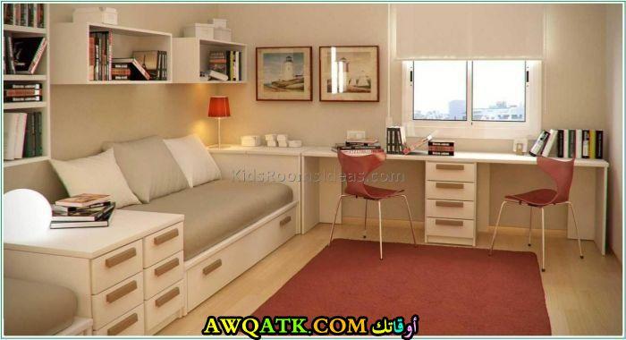 غرفة نوم رائعة وجديدة باللون البيج