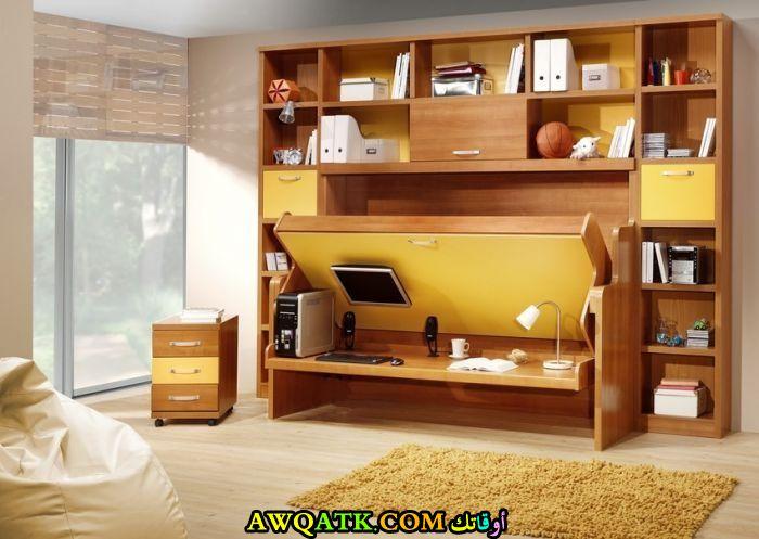 غرفة نوم أطفال باللون البيج شيك وروعة