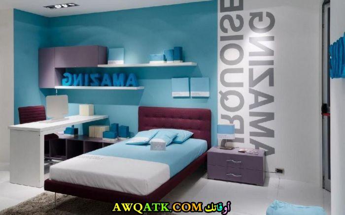 غرفة نوم أطفال باللون اللبني روعة