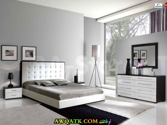 غرف نوم باللون الأبيض روعة