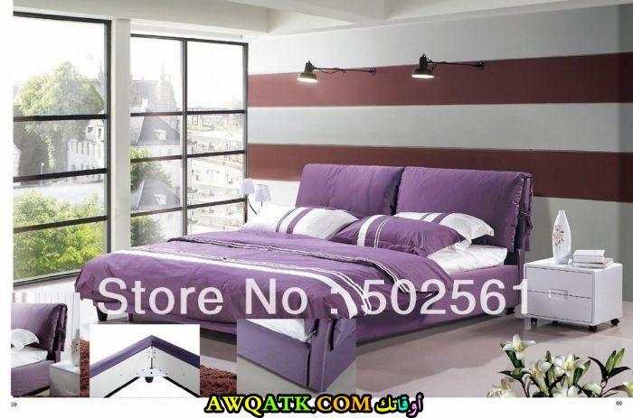 غرفة نوم موف جديدة وجميلة