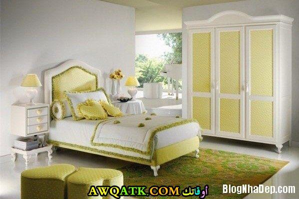 غرفة نوم صفراء روعة 2017