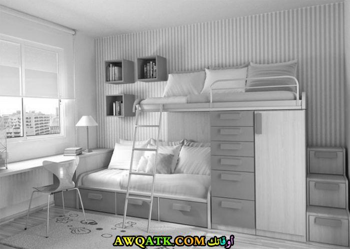 غرفة نوم شبابية جميلة جداً