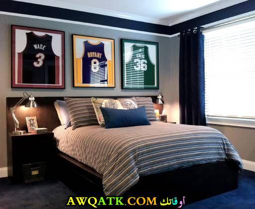غرفة نوم سوداء روعة وشيك