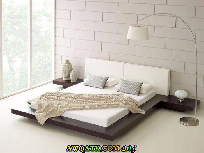 غرفة نوم بيضاء شيك ورائعة