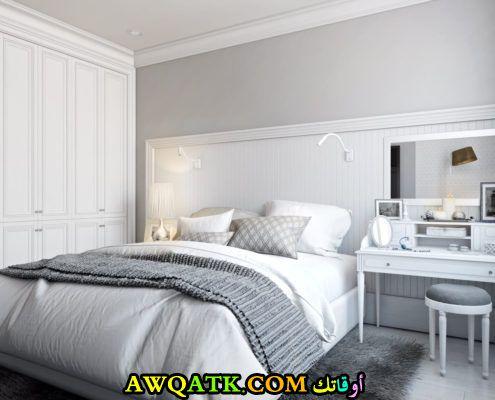 غرفة نوم جميلة جداً وجديدة