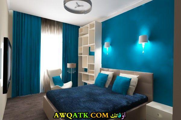 غرف نوم باللون اللبني تناسب المساحة الكبيرة