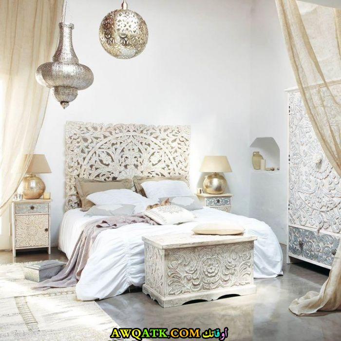غرفة نوم مغربية رائعة وشيك