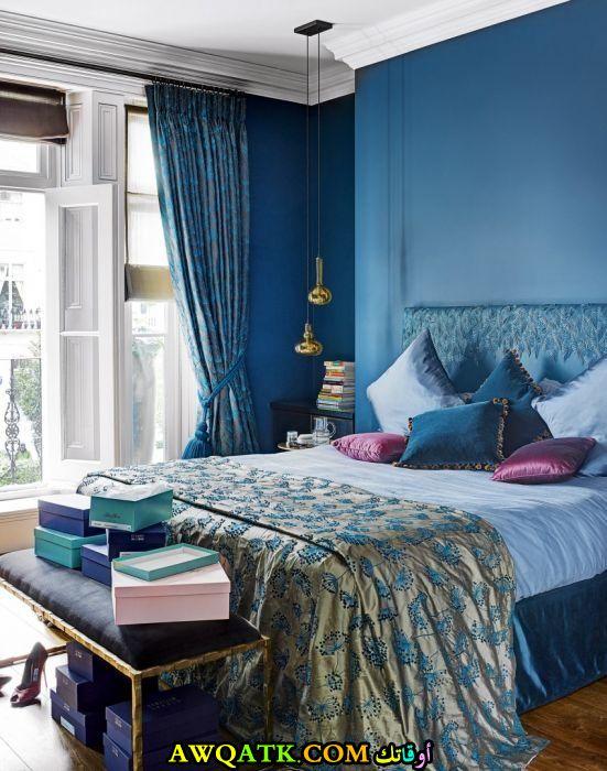 غرفة نوم زرقاء 2017 رائعة