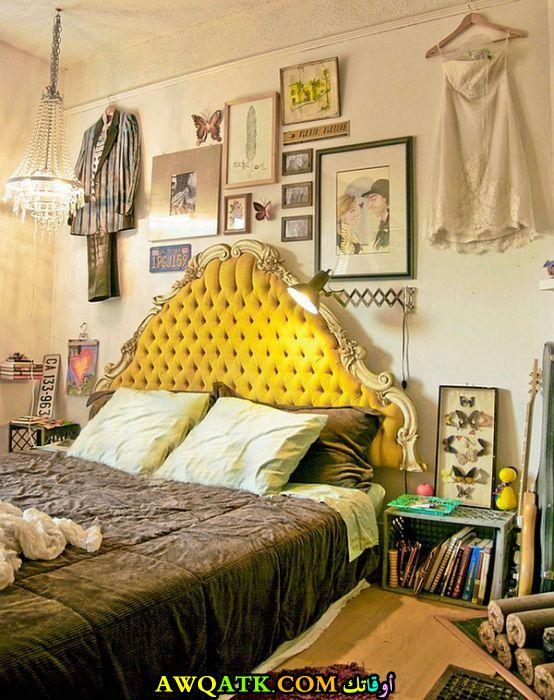 غرفة نوم جيلة 2017 باللون الأصفر