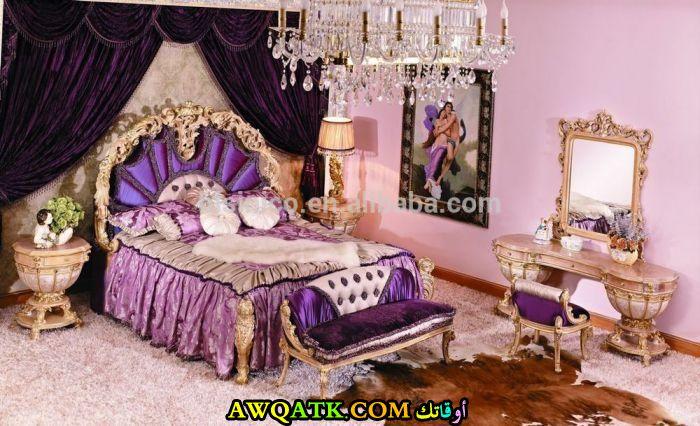 غرفة نوم مغربية جميلة جداً