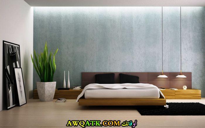 غرفة نوم مودرن كاملة باللون البيج