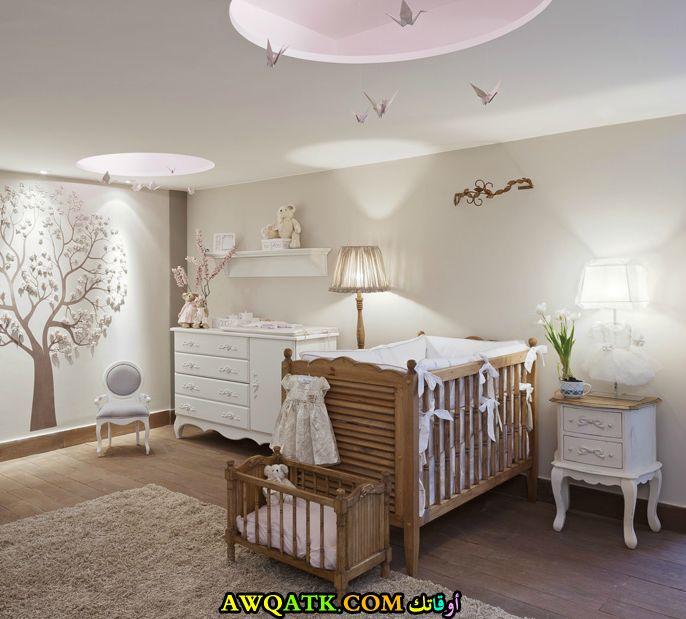 غرفة نوم للرضع جميلة جداً وشيك