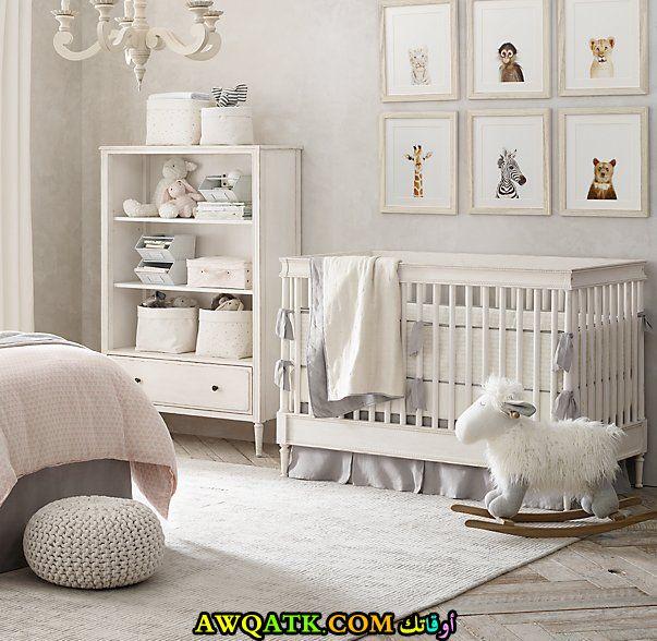 ديكورات غرف نوم للرضع جميلة جداً