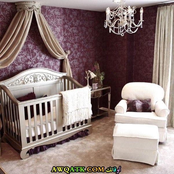 غرفة نوم ملكية رائعة للأطفال